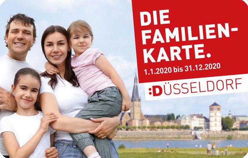 Düsseldorfer Familienkarte