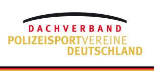 Logo Dachverband Polizeisportvereine Deutschland